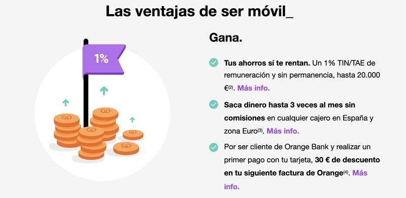 Qué ventajas ofrece Orange Bank y su banco